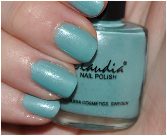 Claudia Nail Polish Minty Fresh
