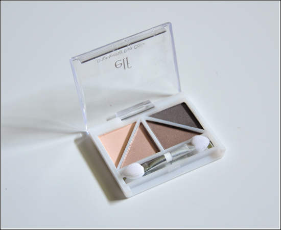 e.l.f. Brownstone Brightening Eye Color Swatches