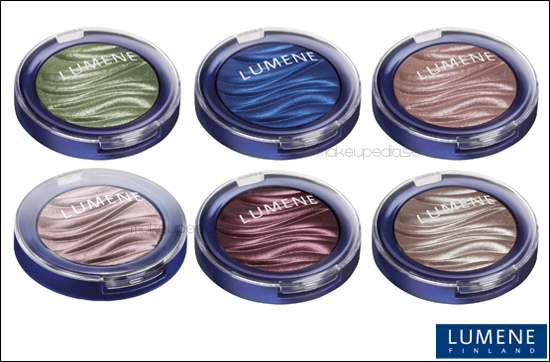Lumene Trend Collection Blueberry Long Wear Crystal Eyeshadow