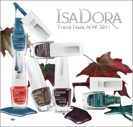 IsaDora Trend Nails Autumn/Winter 2011