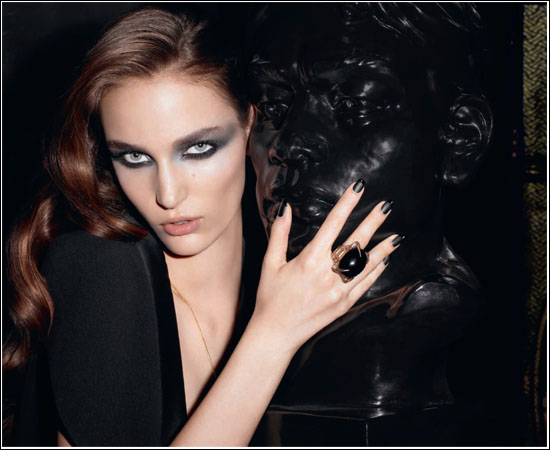 Yves Saint Laurent YSL Holiday Look 2011