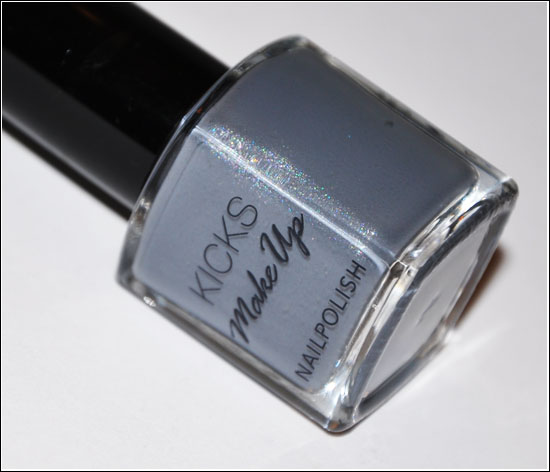Kicks Nail Polish Metro Grey