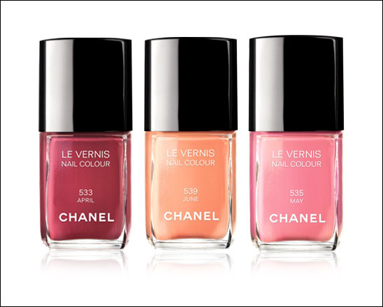 Chanel Le Vernis Nail Colour Spring 2012
