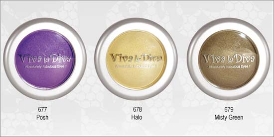 Domed Eyeshadows