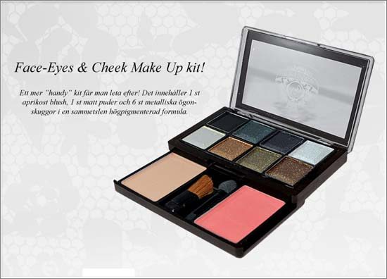 Face-Eyes & Cheek Make Up Kit