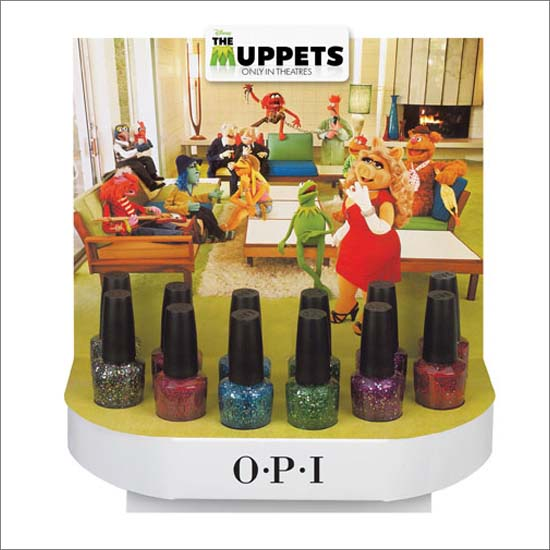 OPI The Muppets Nail Polish Collection Winter 2011