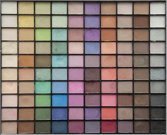 E.L.F. 100 Eye Shadow Collection Palette