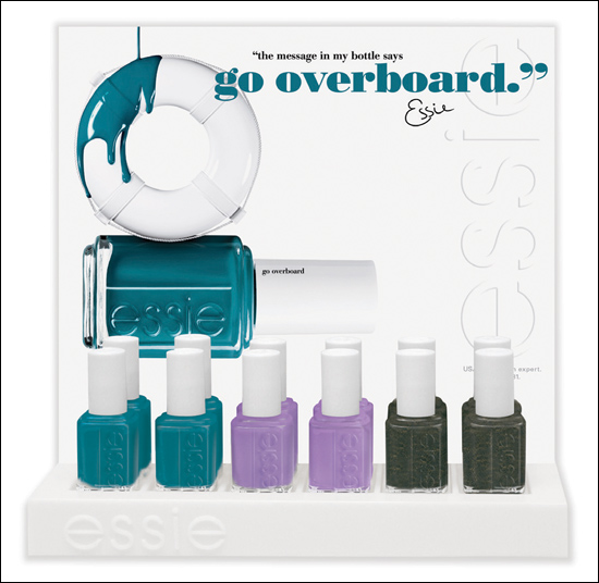 Essie Go Overboard Spring Collection 2012