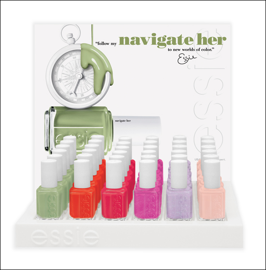 Essie Navigate Her Spring Collection 2012