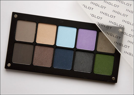 Inglot Freedom System Palette 10 Eye Shadow Square