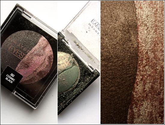 Maybelline Eyestudio Duo 50 Green Glam, 60 Bronze Seduction, 80 Cosmic Black