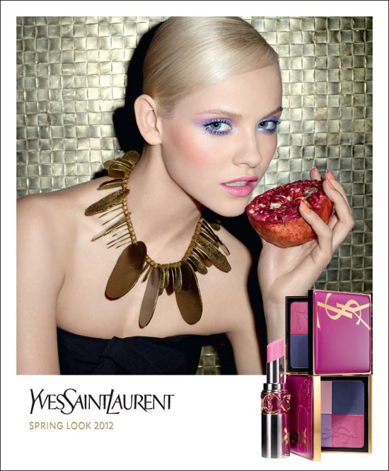 Yves Saint Laurent Candy Face Makeup Collection Spring 2012