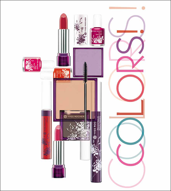 Yves Rocher Colors Collection Spring 2012