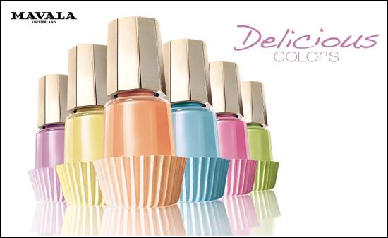 Mavala Delicious Colors Spring 2012