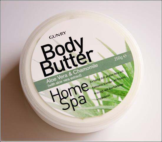 Gunry Body Butter Aloe Vera & Chamomile