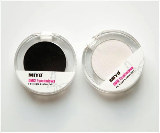 MIYO OMG! Eyeshadows Sugar (02), Zero (21)