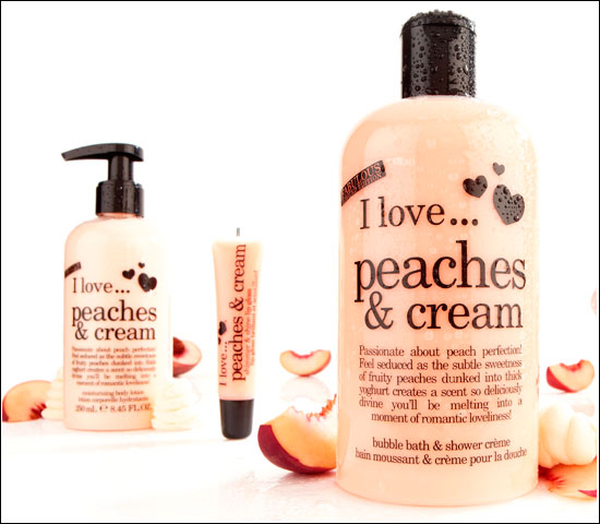 I Love Peaches & Cream Limited Edition