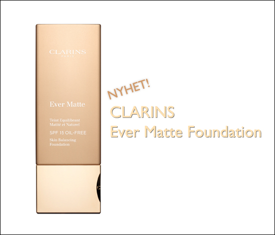 Clarins Ever Matte Skin Balancing Foundation SPF 15