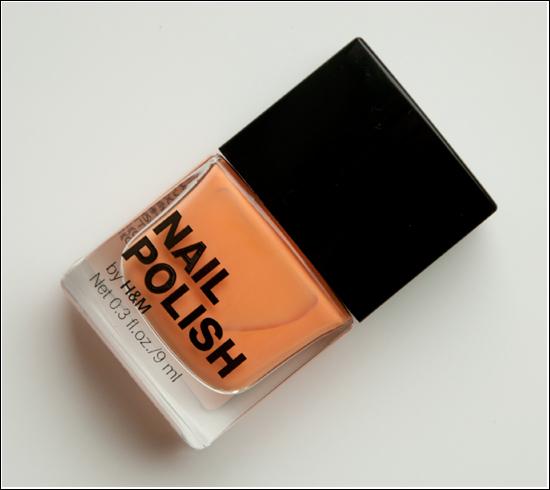 H&M Nail Polish Peach Me Soon