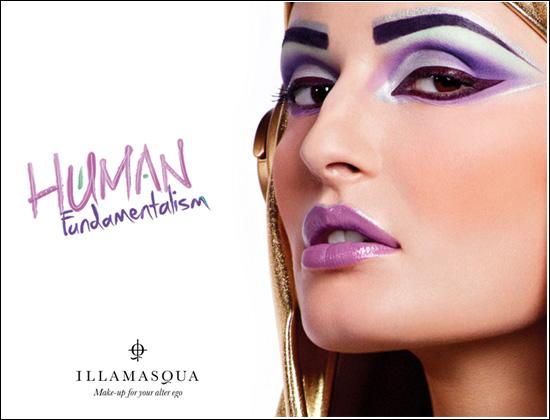 Illamasqua New Human Fundamentalism Spring/Summer Collection 2012