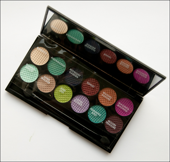 Sleek MakeUp Mediterranean Collection i-divine Eyeshadow Palette Monaco