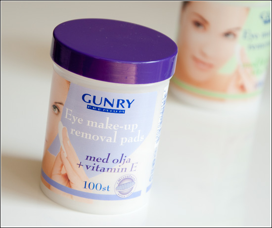 Gunry Eye Makeup Remover Pads