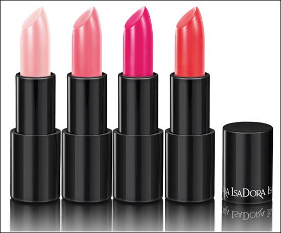 IsaDora Jelly Kiss Shine Lipsticks