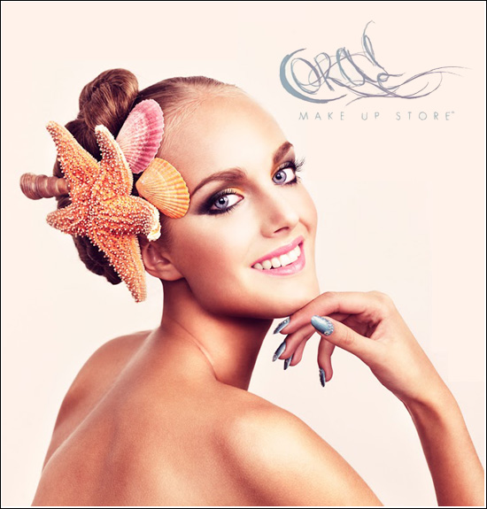 Make Up Store Coral Summer 2012 Collection