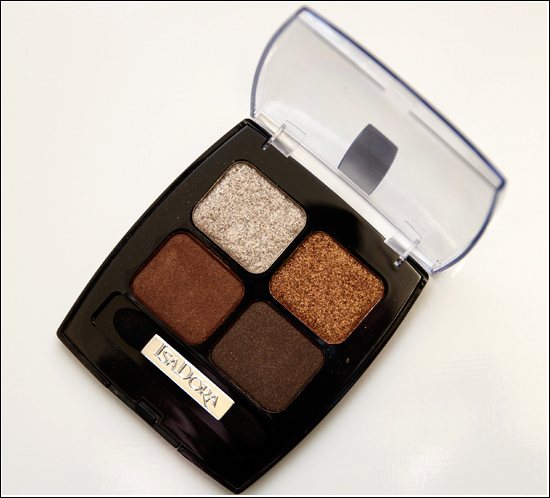 IsaDora Eye Shadow Quartet Brown Patina 63