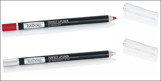 Perfect Lipliner 31 Prime Red, 80 Transparent Lip Fix