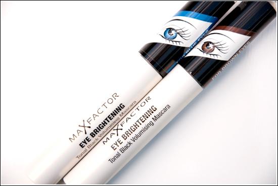 Max Factor Black Pearl & Black Sapphire/<br /> Eye Brightening Tonal Black Volumising Mascara