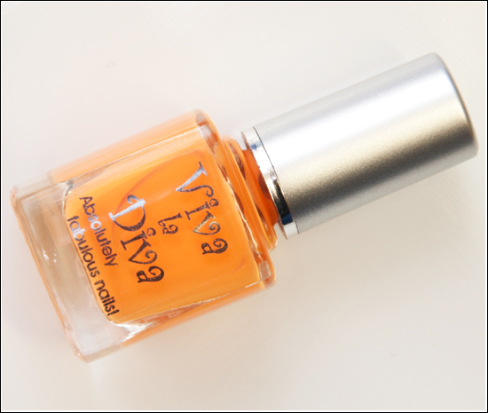 Viva la Diva 136 Nail Polish Fresh Orange