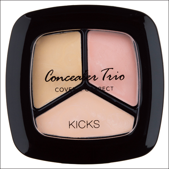KICKS Concealer Trio Cover & Correct