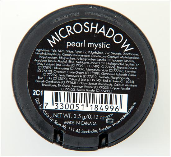 Make Up Store Pearl Mystic Microshadow