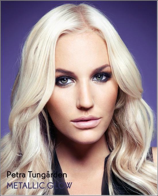 Petra Tungården Metallic Looks Yves Rocher Autumn Looks 2012