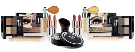 The Body Shop Winter Trends 2012