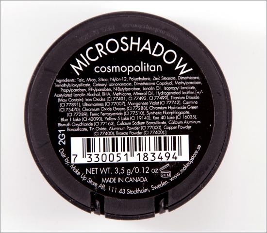 Make Up Store MicroshadowCosmopolitan
