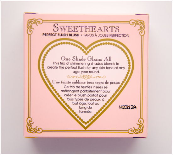 Too Faced Candy Glow Sweethearts Perfect Flush Blush