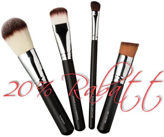 20% rabatt på KICKS Professional Brushes
