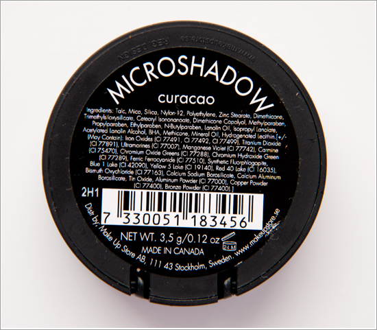 Make Up Store Microshadow Curacao
