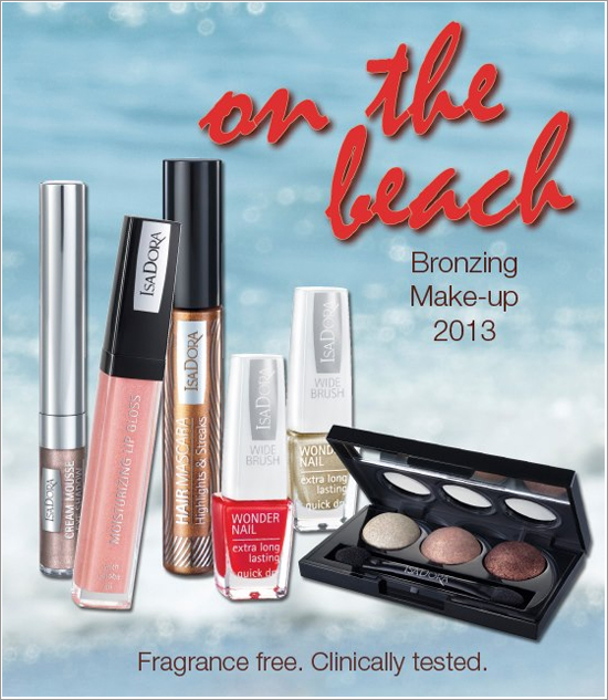 ISADORA ON THE BEACH 2013 BRONZING COLLECTION