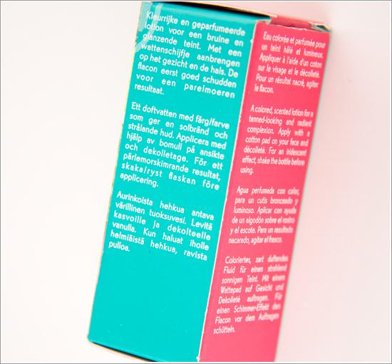 Yves Rocher Retropical Packaging