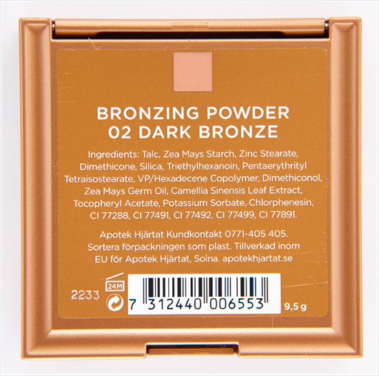 apolosophy bronzing powder