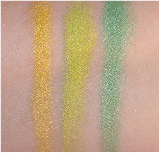 Make Up Store Marble Eyeshadow Giallo Damasco Swatches