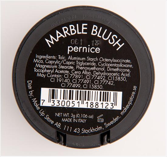 Make-Up-Store-Pernice-Marble-Blush-Ingredients