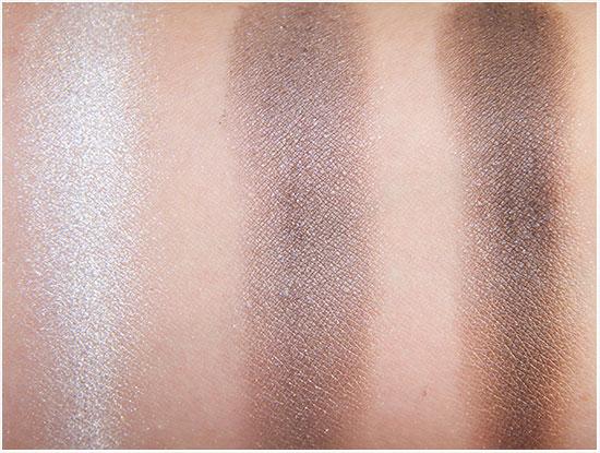 Swatches Apolosophy Eyeshadow Palette Glamorous Grey 02