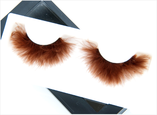 Make Up Store Brown Feather Lash Art
