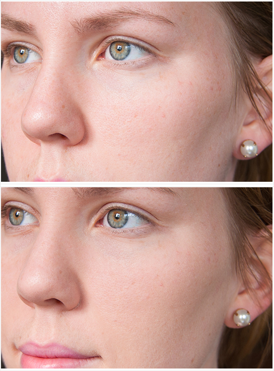 Max-Factor-Whipped-Cream-Foundation-Before-After-Application