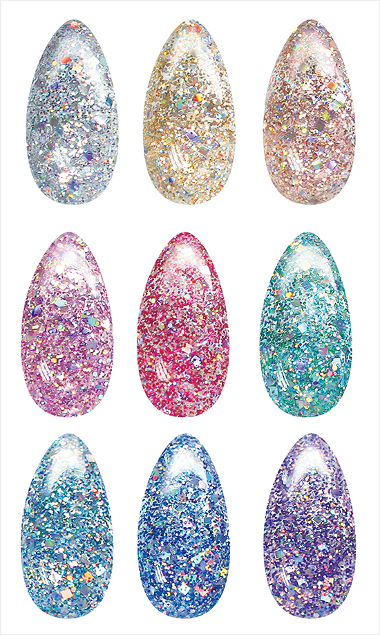 IsaDora-Holographic-Nails-Swatches