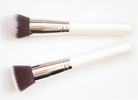 Nanshy Flat Top Buffer Brush & Round Buffer Brush